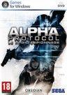 Jaquette PC d'Alpha Protocol