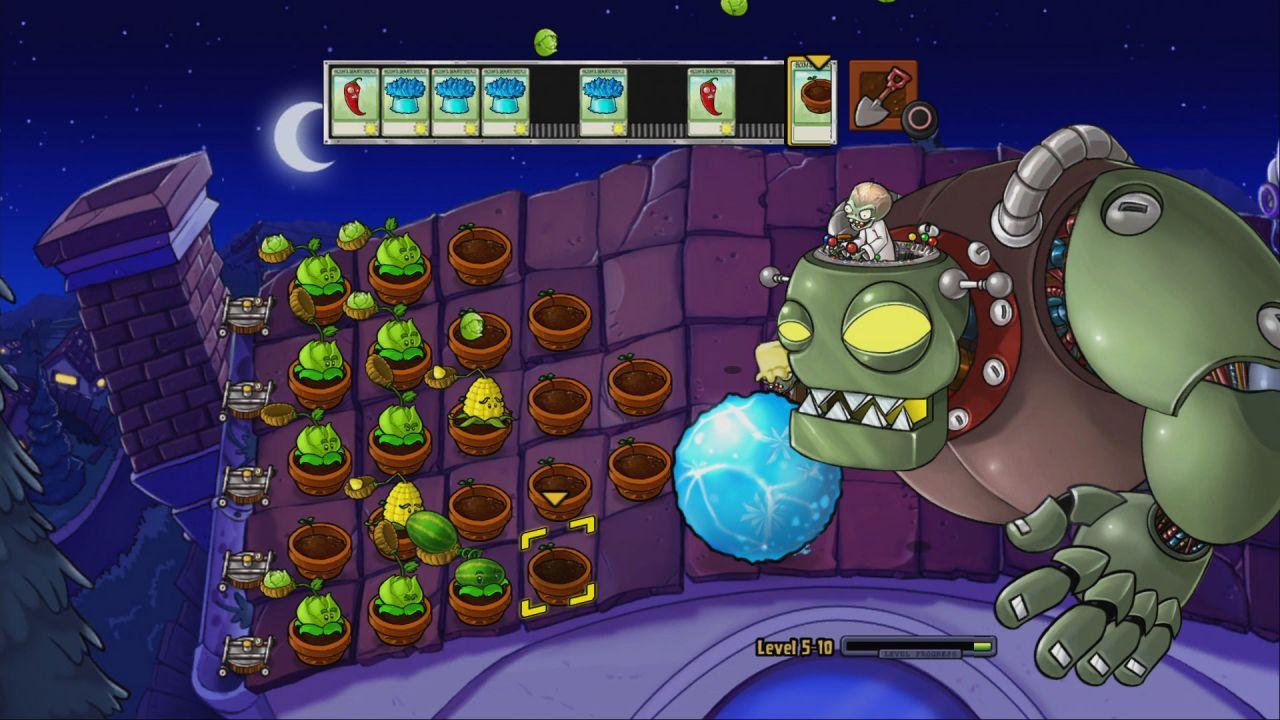 Plantes contre zombies jeu vid o pc sur for Plante zombie