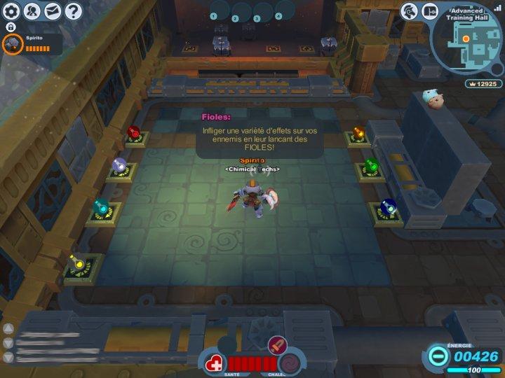 Screenshot de Spiral Knight