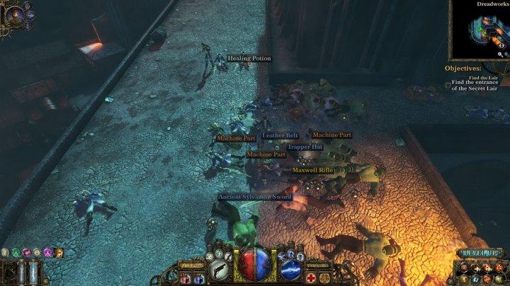 Screenshot de The Incredible Adventures of Van Helsing