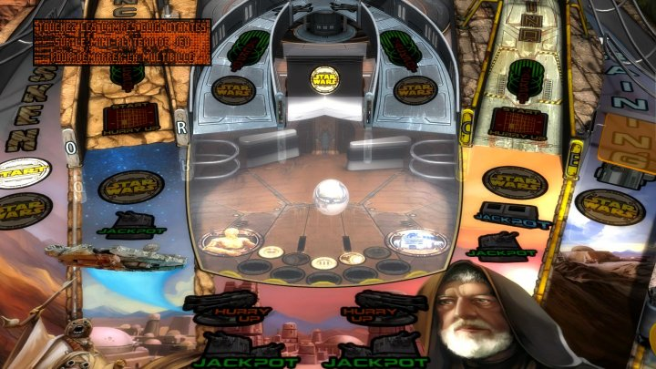 Screenshot de Pinball FX2 : Star Wars Pinball Heroes Within