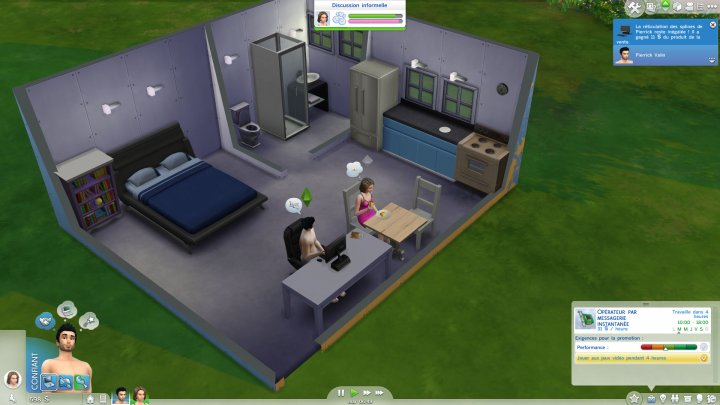Screenshot de Les Sims 4