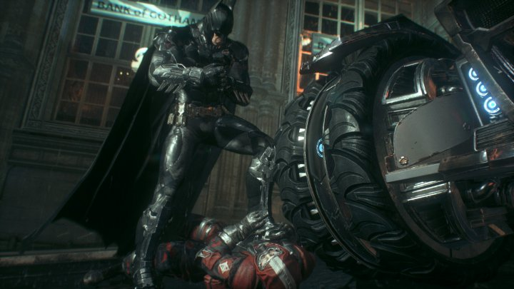 Screenshot de Batman Arkham Knight