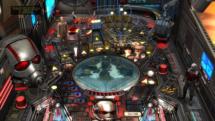 Screenshot de Pinball FX 2 – Marvel's Ant-Man