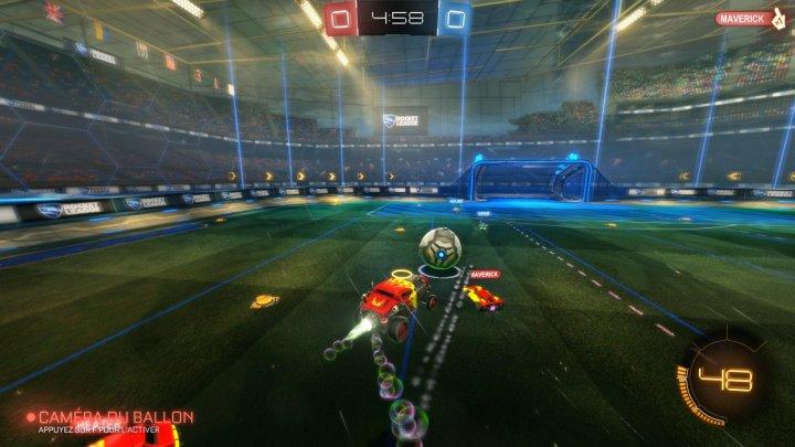 Screenshot de Rocket League