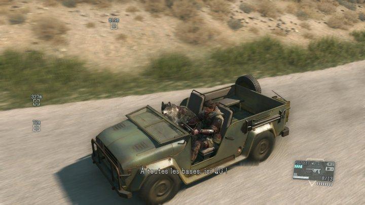 Screenshot de Metal Gear Solid V : The Phantom Pain