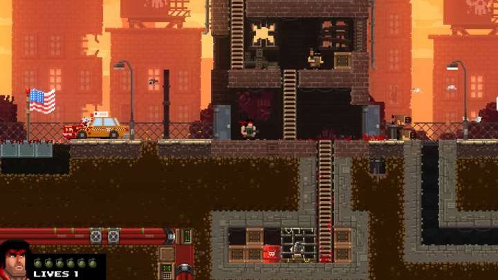 Screenshot de Broforce
