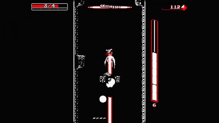 Screenshot de Downwell