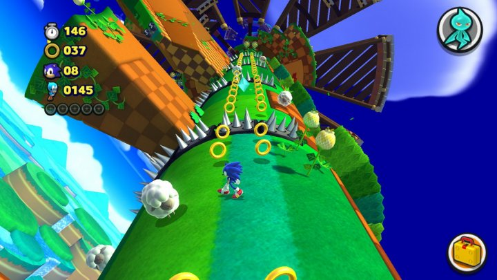 Screenshot de Sonic Lost World