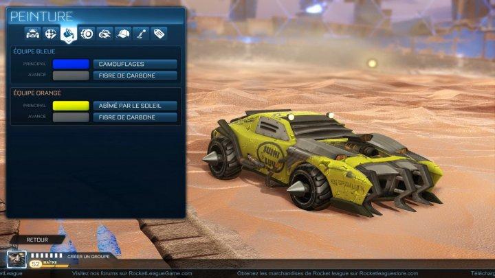 Screenshot de Rocket League – Chaos Run