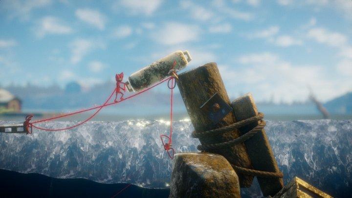 Screenshot de Unravel