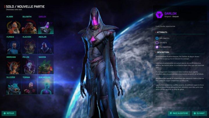 Screenshot de Master of Orion