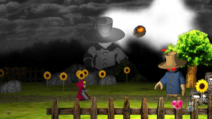 Screenshot de Little Red and Professor Wolf