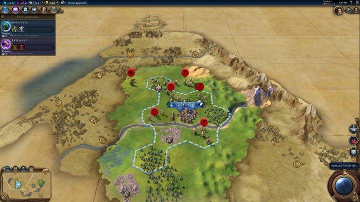 Screenshot de Sid Meier's Civilization VI