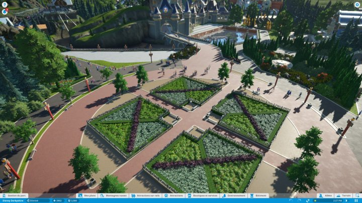 Screenshot de Planet Coaster