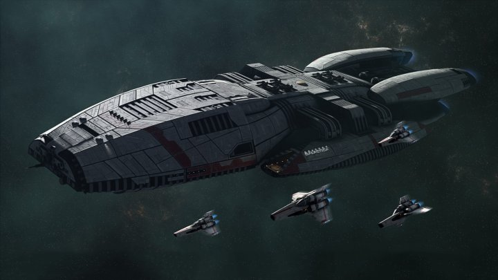 Screenshot de Battlestar Galactica Deadlock