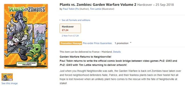 Image de Plants Vs. Zombies: Garden Warfare 3 en fuite ?