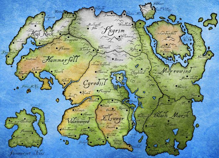 Image de The Elder Scrolls VI : High Rock et Hammerfell, notre cœur balance