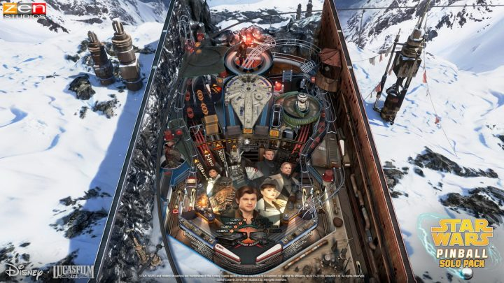 Screenshot de Pinball FX3 – Star Wars Pinball: Solo