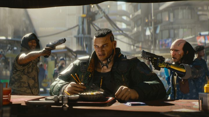 Screenshot de Cyberpunk 2077