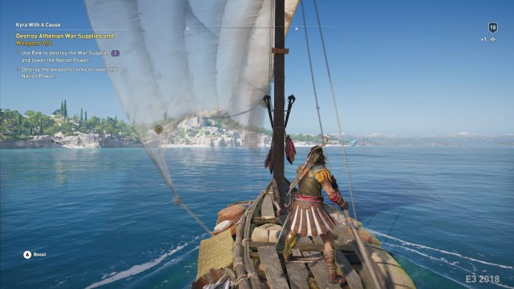 Screenshot de Assassin's Creed : Odyssey