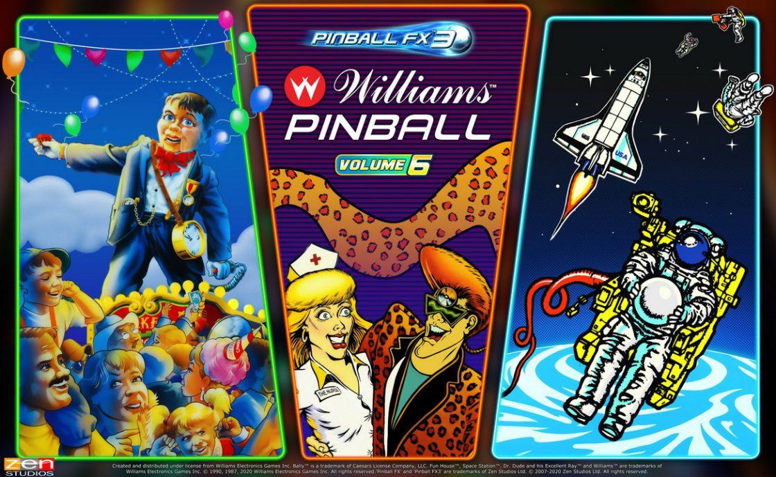 Image de Williams Pinball: Volume 6 pour bientôt
