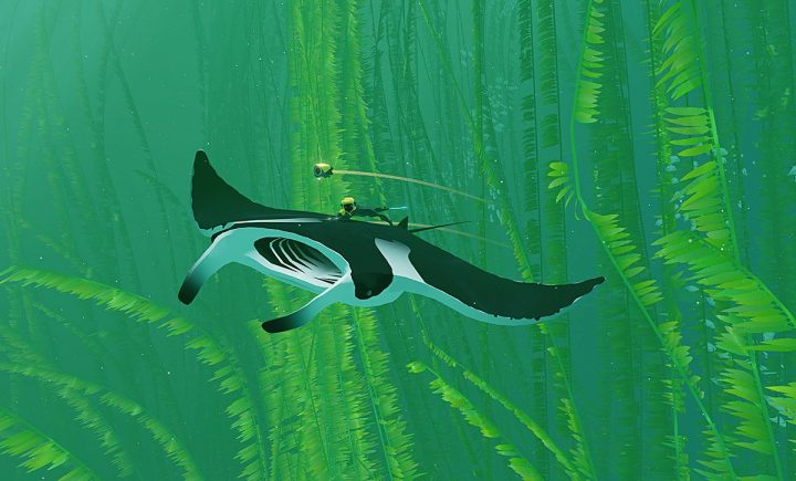 Screenshot de ABZÛ