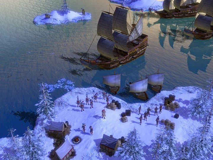 Screenshot de Age of Empires III