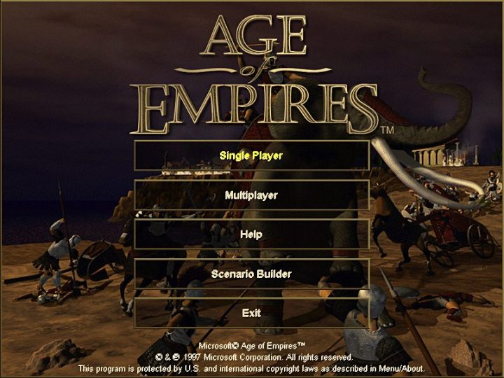 Screenshot de Age of Empires