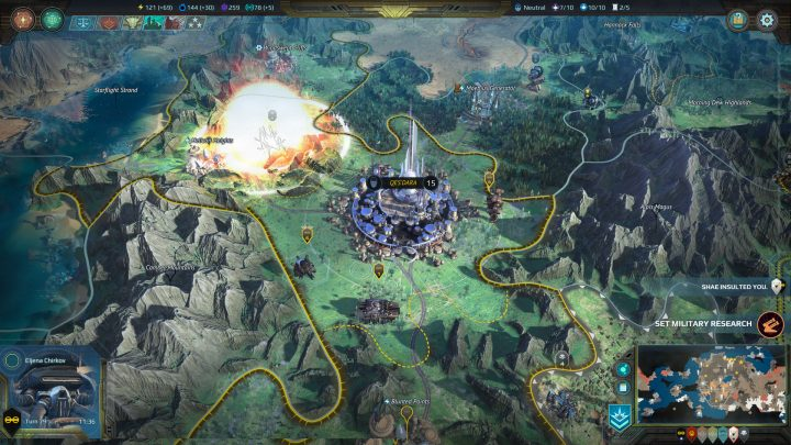 Screenshot de Age of Wonders : Planetfall
