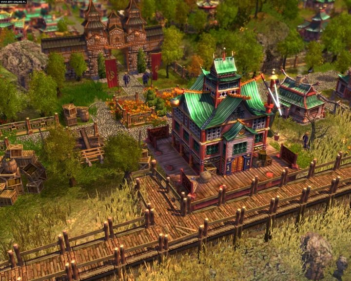 Screenshot de Anno 1701 : The Sunken Dragon