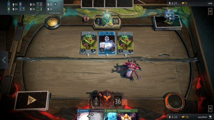 Screenshot de Artifact