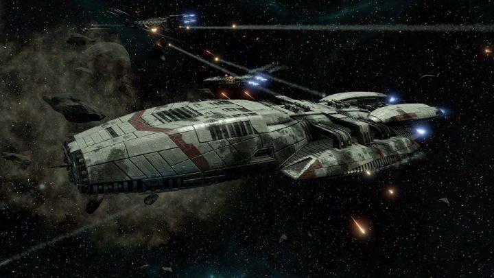 Screenshot de Battlestar Galactica Deadlock : Anabasis