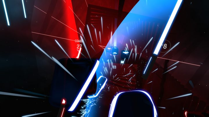 Screenshot de Beat Saber