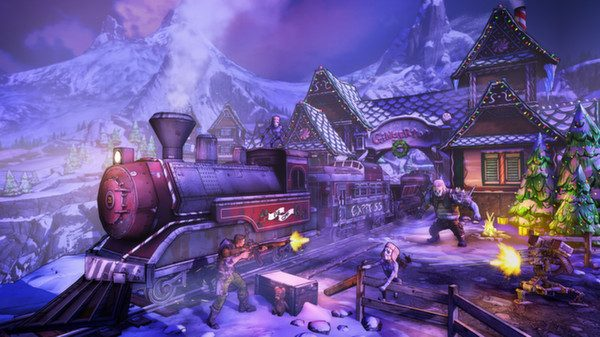 Screenshot de Borderlands 2 : How Marcus Saved Mercenary Day