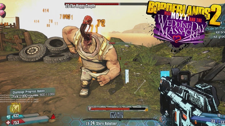 Screenshot de Borderlands 2 : Mad Moxxi and the Wedding Day Massacre