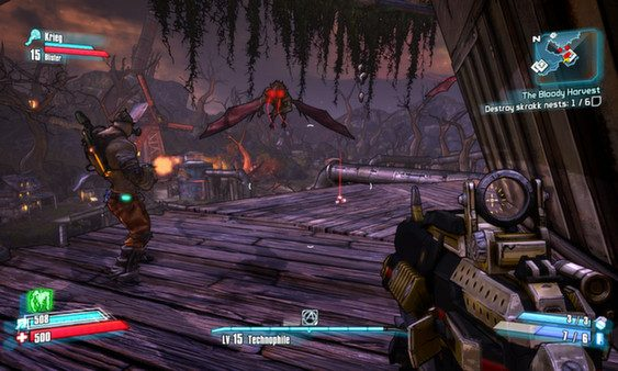 Screenshot de Borderlands 2 : T.K. Baha's Bloody Harvest