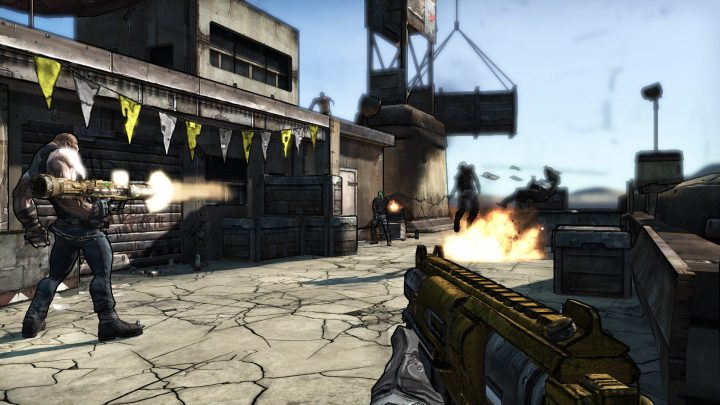 Screenshot de Borderlands