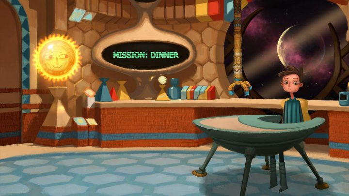 Screenshot de Broken Age
