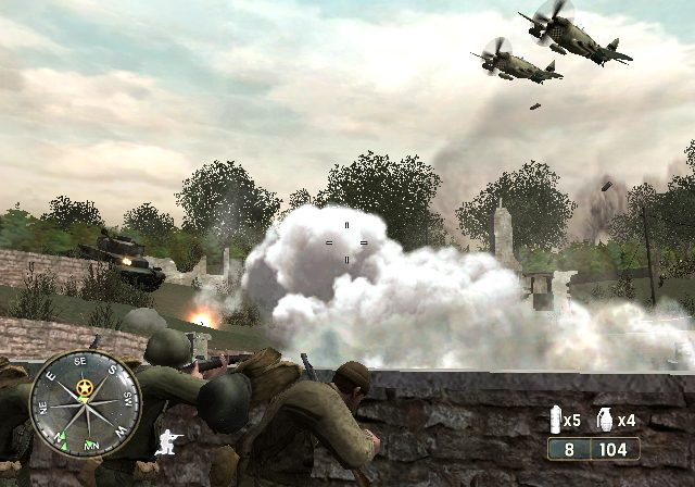 Screenshot de Call of Duty 3