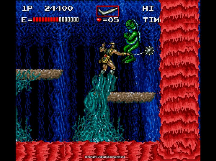 Screenshot de Castlevania Anniversary Collection