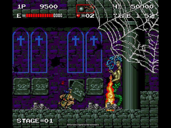 Screenshot de Castlevania Anniversary Collection