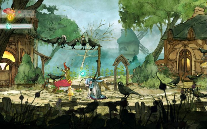 Screenshot de Child of Light