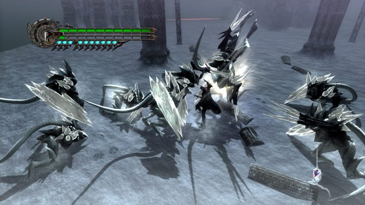 Screenshot de Devil May Cry 4