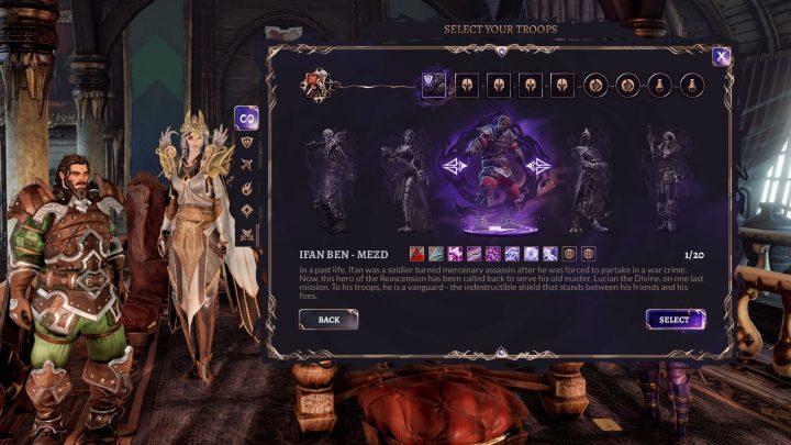 Screenshot de Divinity : Fallen Heroes