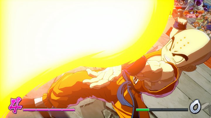Screenshot de DRAGON BALL FighterZ