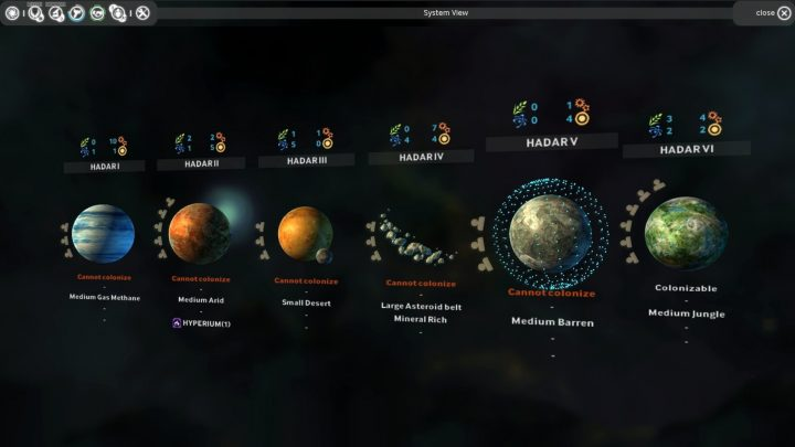 Screenshot de Endless Space