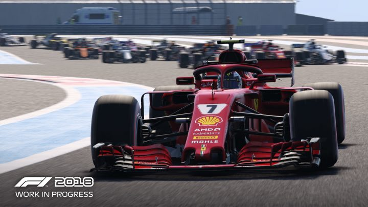 Screenshot de F1 2018