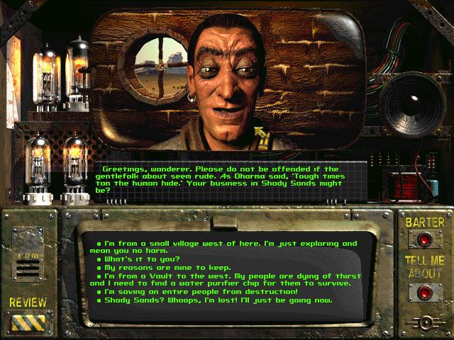 Screenshot de Fallout