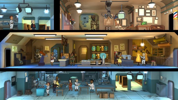 Screenshot de Fallout Shelter